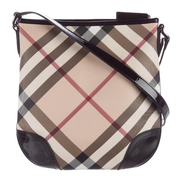 78b403d7de20 Burberry Handbags - • Burberry • Dryden Supernova Check Crossbody Bag